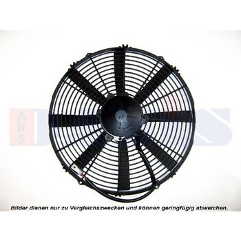 Fan, radiator -- AKS DASIS, Alu Oil Cooler Industrie, T01 - T11...