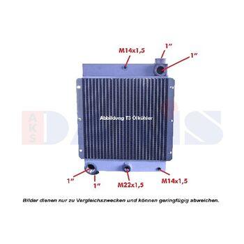 Ölkühler, Motoröl -- AKS DASIS, Alu Ölkühler Industrie, T01 - T11...
