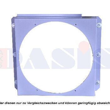 Cowling, radiator fan -- AKS DASIS, Alu Oil Cooler Industrie, T01 - T11