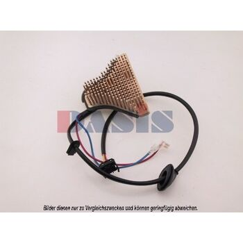 Blower Switch, heating/ventilation -- AKS DASIS, Weight [kg]: 0,607...