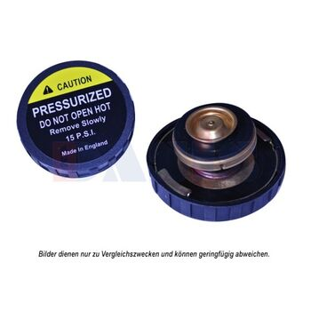 Sealing Cap, radiator -- AKS DASIS, Cap Radiator/ Metall, John Deere, ...