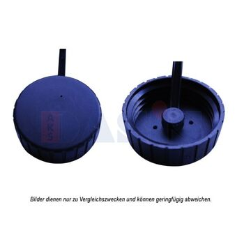 Sealing Cap, radiator -- AKS DASIS, Cap Radiator / plastic, Ø 63mm /...