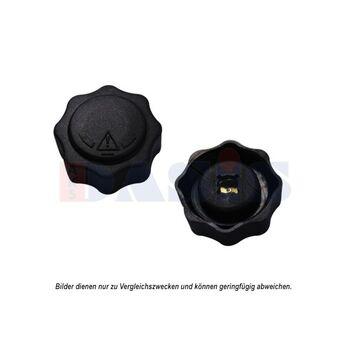 Sealing Cap, radiator -- AKS DASIS, Cap Radiator / plastic, Ø 53mm /...