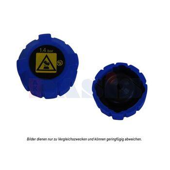 Sealing Cap, radiator -- AKS DASIS, Cap Radiator / plastic, Ø 52mm /...