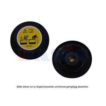 Sealing Cap, radiator -- AKS DASIS, Cap Radiator / plastic, Ø 84mm /...
