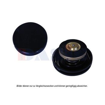 Sealing Cap, radiator -- AKS DASIS, Cap Radiator / plastic, Ø 59mm /...