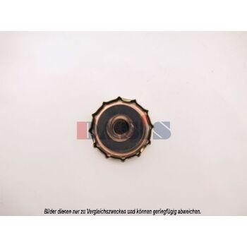 Sealing Cap, radiator -- AKS DASIS, Cap Radiator/ Metall, Ø 81mm /...