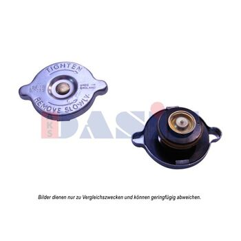 Sealing Cap, radiator -- AKS DASIS, Cap Radiator/ Metall, Ø 45mm /...