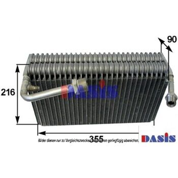 Verdampfer, Klimaanlage -- AKS DASIS, AUDI, V8 (44_, 4C_)...