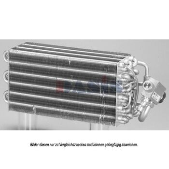 Evaporator, air conditioning -- AKS DASIS, BMW, 3 Convertible (E30), ...