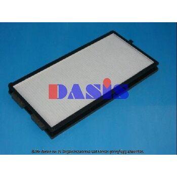 Filter, Innenraumluft -- AKS DASIS, Gewicht[kg]: 0,364, Gewicht [g]: 364...