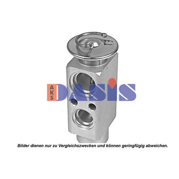 Expansion Valve, air conditioning -- AKS DASIS, BMW, NEW HOLLAND, ...