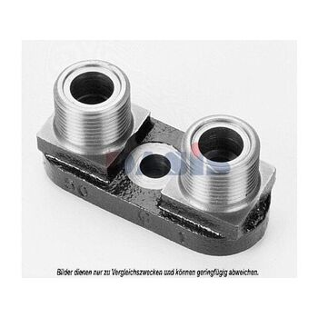 Connecting Flange, compressor -- AKS DASIS, Clutch / coil cylinder head,...