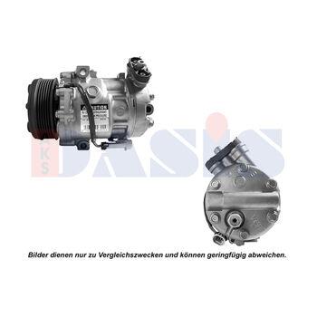 Kompressor, Klimaanlage -- AKS DASIS, Gewicht[kg]: 7,2, Gewicht [g]: 7200...