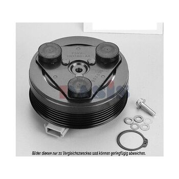 Magnetkupplung, Klimakompressor -- AKS DASIS, ..., Magnetkupplung...