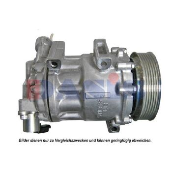 Compressor, air conditioning -- AKS DASIS, PEUGEOT, CITROËN, ..., 407...