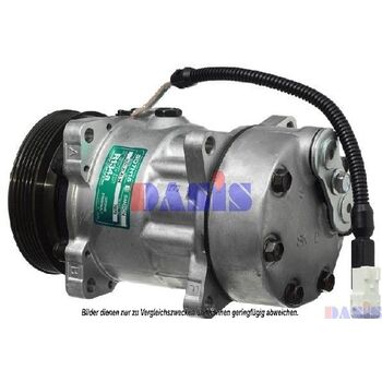 Compressor, air conditioning -- AKS DASIS, PEUGEOT, CITROËN, ..., 205...