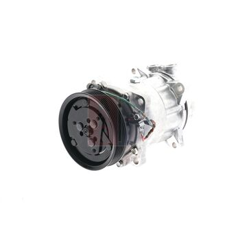 Compressor, air conditioning -- AKS DASIS, PEUGEOT, CITROËN, ..., 206...
