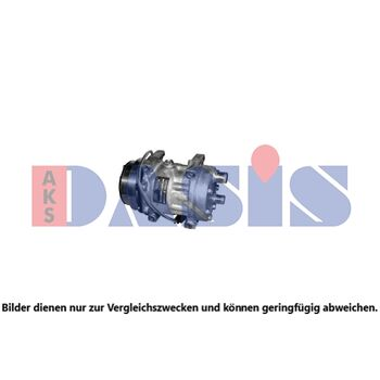 Kompressor, Klimaanlage -- AKS DASIS, NEW HOLLAND, Case...