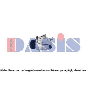 Compressor, air conditioning -- AKS DASIS, BMW, 7 (F01, F02, F03, F04),...