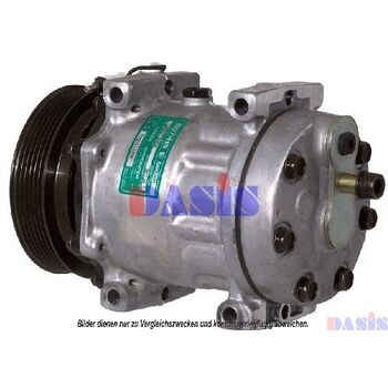 Compressor, air conditioning -- AKS DASIS, RENAULT, Compressor...