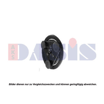 Driven Plate, magnetic clutch compressor -- AKS DASIS, Clutch / coil...,...