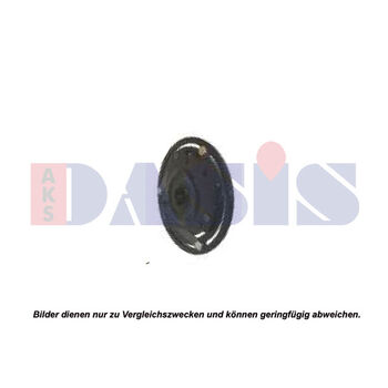 Driven Plate, magnetic clutch compressor -- AKS DASIS, Clutch / coil...,...