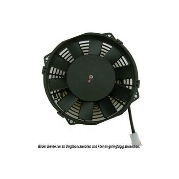 Fan, A/C condenser -- AKS DASIS, Fan Axial/Blower Radial 6/12/24V, ...