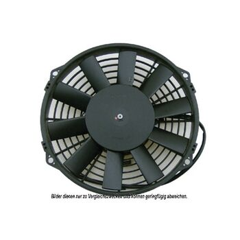 Fan, A/C condenser -- AKS DASIS, MERCEDES-BENZ, Fan Axial/Blower...