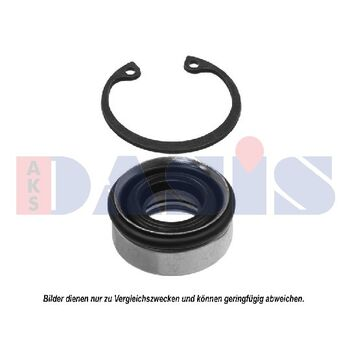 Seal, compressor -- AKS DASIS, Clutch / coil cylinder head, Sealing...