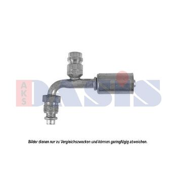 Connection Piece, hose line -- AKS DASIS, Fittinge / Dichtung, ...