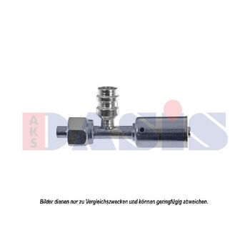 Connection Piece, hose line -- AKS DASIS, Fittinge / Dichtung, ...