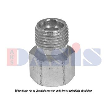 Connection Piece, hose line -- AKS DASIS, Fittinge / Dichtung, Adapter...