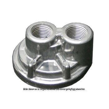 Cover, oil filter housing -- AKS DASIS, Aluminium Oil cooler, Oil...